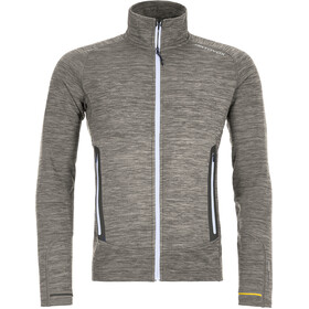 Ortovox Merino Fleece Light Melange Jacket Men grey blend